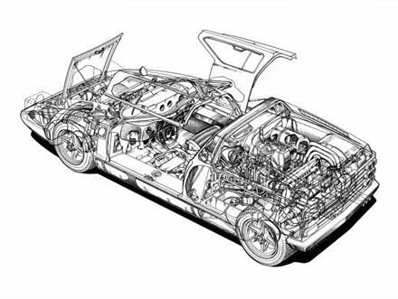 1969_Mercedes_C111_Cut_through