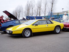 Lotus Esprit S2 Yellow