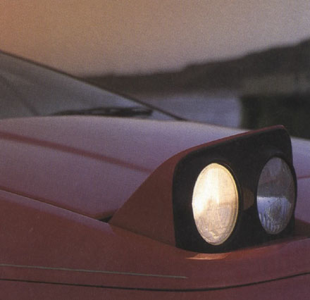 Lotus Esprit 1988 Headlights