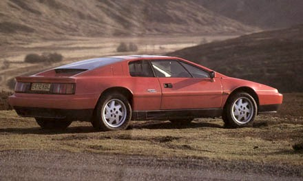 Lotus Esprit 1988 Rear View