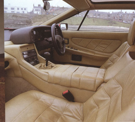 Lotus Esprit 1988 Side Interior