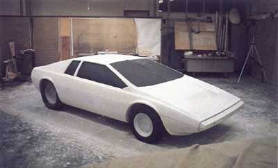 Lotus_Esprit_Clay_Model