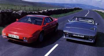 Lotus Esprit Road TVR Test