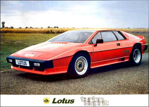 Lotus Turbo Esprit Press